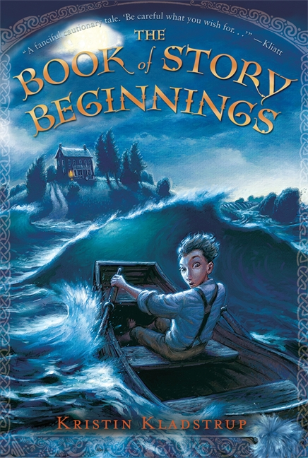 cover of The Book of Story Beginnings by Kristin Kladstrup